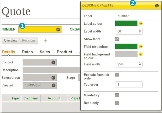 Greentree Screen Designer's Designer Palette