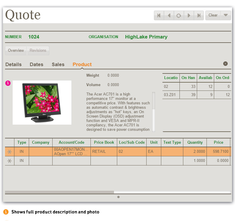 Greentree4Sales - Quote Form