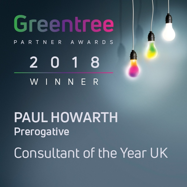 Prerogative Greentree Awards Consultant Paul Howarth