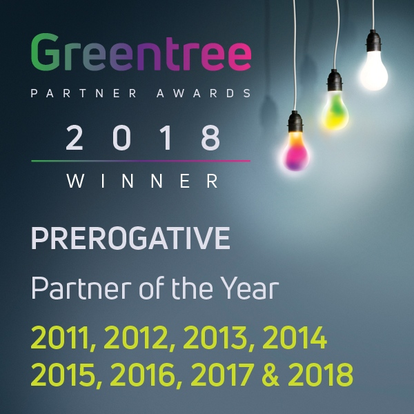 Prerogative Greentree Awards Partners every year since 2008